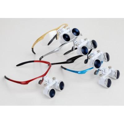 歯科用光学双眼ルーペ3.5倍拡大鏡&LEDヘッドライト