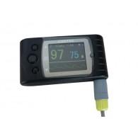血中酸素濃度計 パルスオキシメータCMS60C フィンガーUSB+CD