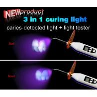 LY® 3 in 1 LED光重合器 照射器 C240C(ライトメーター&う蝕検出機能付き)