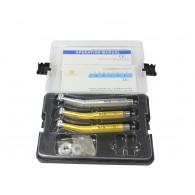 LY®歯科高速エアタービンセット(プッシュボタン式、LED付き)