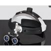 歯科用ポータブル双眼ルーペ3.5倍拡大鏡&LEDヘッドライト