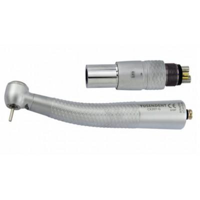 COXO®歯科用ライト付き高速タービンCX207-GN-TP(NSKと交換、カップリング付き)