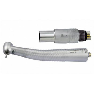 COXO®歯科用ライト付き高速タービンCX207-GN-SP(カップリング付き)