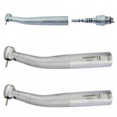 COXO®歯科用ライト付きタービンCX207-GK-SPカップリング付き1本+カップリング無し2本